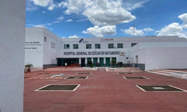 Hospital de Izúcar vuelve a ser centro Covid