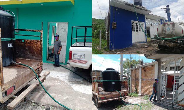 Abastece SOSAPAMIM de agua a 300 hogares afectados por la avería del pozo 3