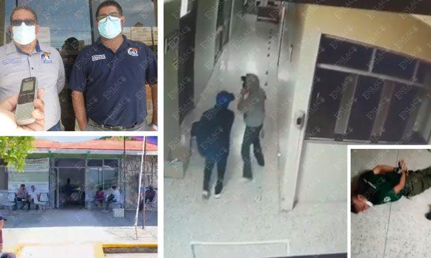 Trabajadores del IMSS de Atencingo se manifiestan en Puebla; piden seguridad en la clínica