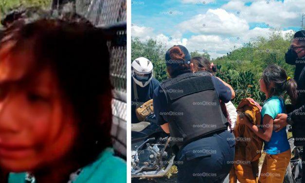 Detienen a niña de 9 años; estaba en una manifestación de Tehuacán