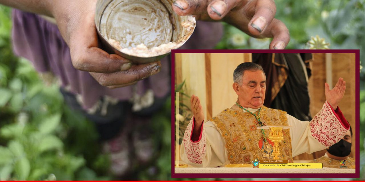 """""""Vamos a ser gobernados por los narcos"""": obispo de Chilpancingo"""