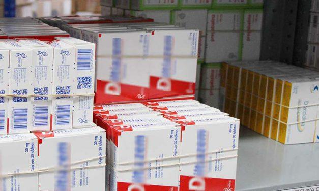 Roban 1 MDP en medicamentos a clínica del IMSS en Amalucan