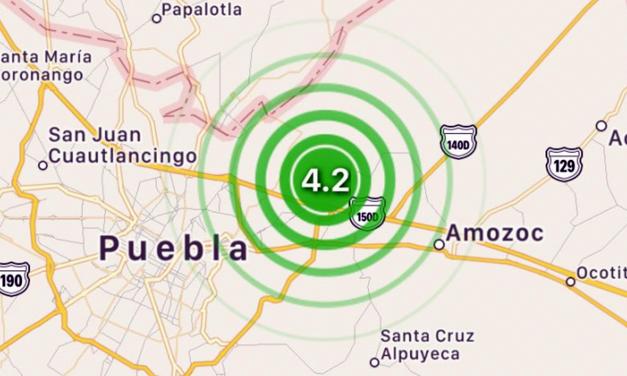 Activaron protocolo ante sismo registrado en Puebla