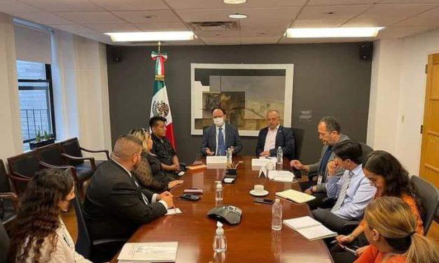 Crearan vínculo entre el consulado y municipio de Piaxtla