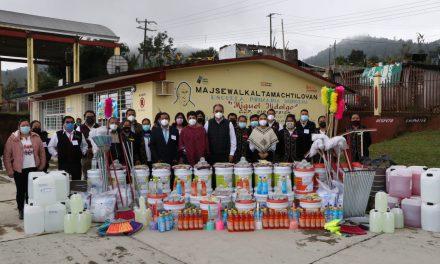 Reconoce SEP trabajo de docentes de Educación Indígena de la Sierra Norte