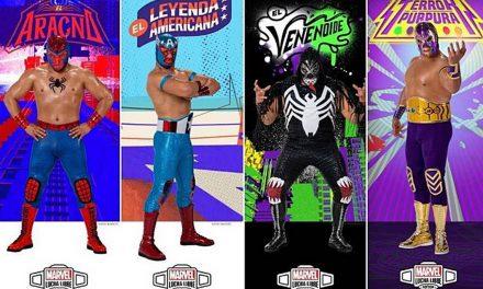Luchadores mexicanos se convierten en héroes y villanos de Marvel