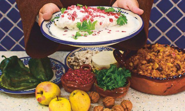 Promueve la Secretaría de Desarrollo Rural los ingredientes originales del chile en nogada