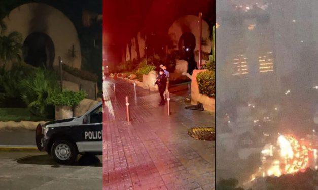 Se incendia la famosa discoteca Baby'O en Acapulco
