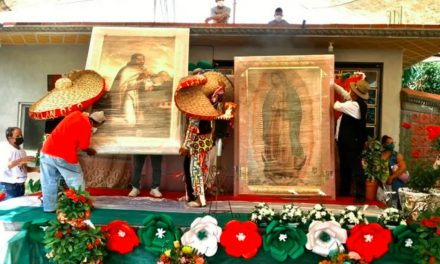 Llega la Antorcha Guadalupana a la Mixteca