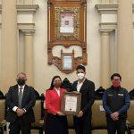 Miguel Aguilar recibe el Premio  Municipal del Deporte en Puebla