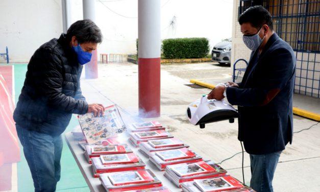 Reciben Cordes el 100% de libros gratuitos para secundarias y telesecundarias