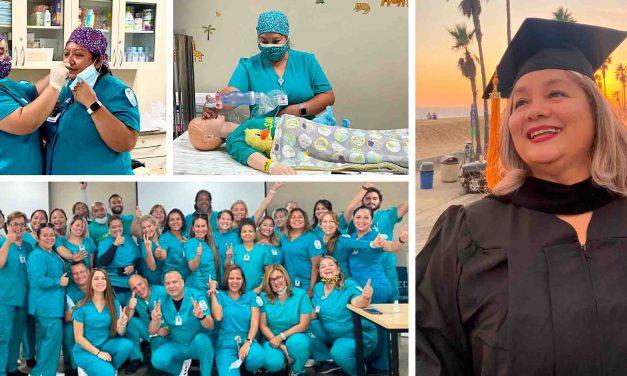 Izucarense se graduó como enfermera en EU