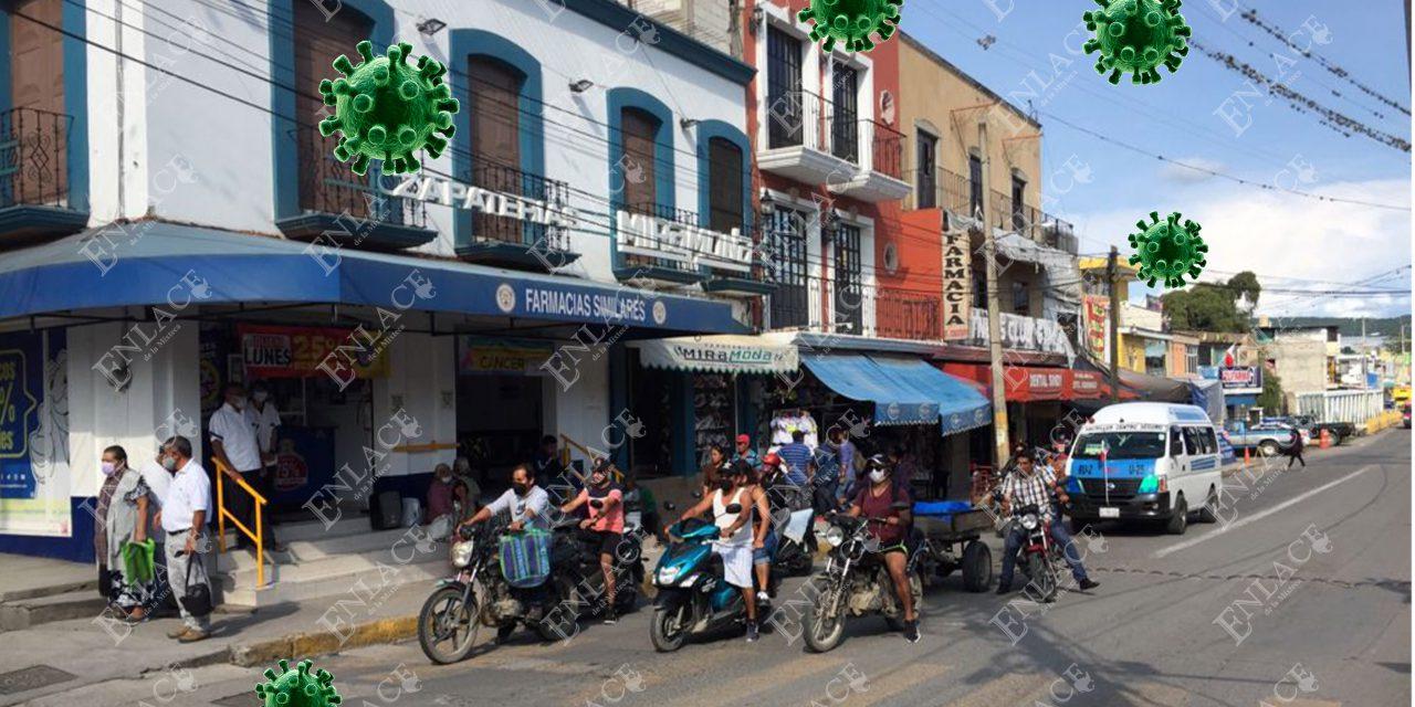 Izúcar de Matamoros reporta 40 activos de Covid Y 102 sospechosos