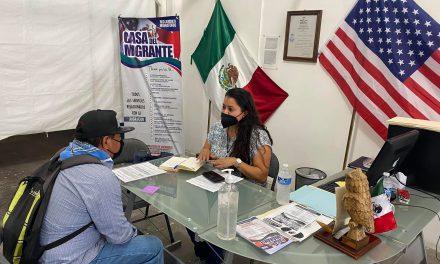 Casa del migrante apoya al empleo de migrantes retornados al país