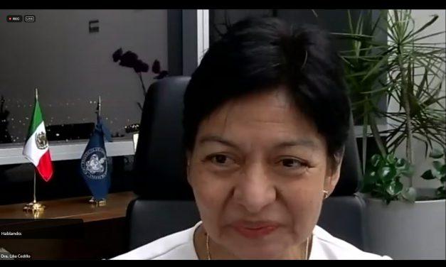 Como humanidad tenemos la capacidad de corregir el rumbo y revertir el daño ambiental: Lilia Cedillo Ramírez
