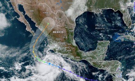 Depresión tropical 16-E amenaza con convertirse en Huracán