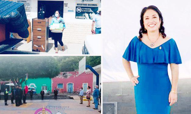 Alcaldesa de Epatlán prioriza la seguridad y los servicios básicos