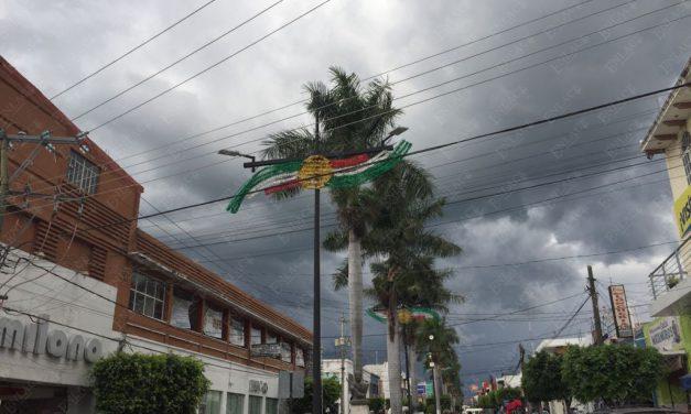 Lluvias en Puebla causadas  por el frente frío número 4