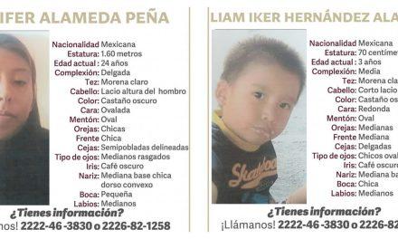 Madre e hijo izucarenses llevan desaparecidos 6 meses