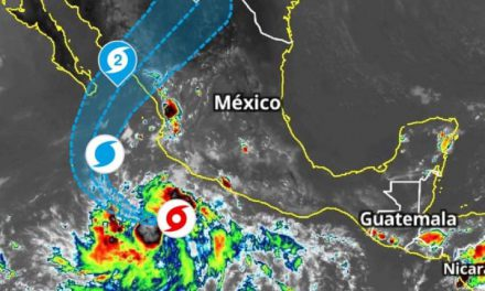 'Pamela' cobra fuerza y se convierte en huracán 1