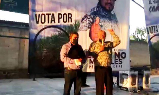 Desde Zolonquiapa, Eliseo Morales llama a sembrar juntos la semilla de la esperanza en la CNPR