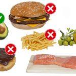 Las grasas; buenas vs malas