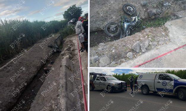 Joven muere al derrapar su moto en la carretera a Matzaco