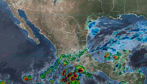 "Huracán ""Rick"" traerá consigo lluvias fuertes para Puebla"