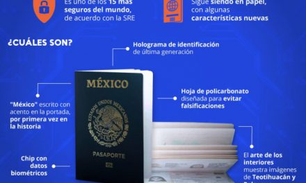 Inicia emisión del pasaporte electrónico mexicano